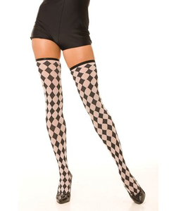 Checkered Stockings