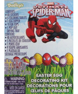 Spiderman Easter Egg Decorating