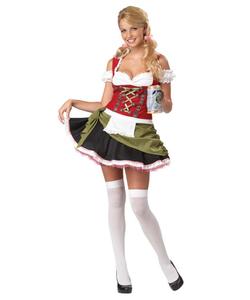 Bavarian Bar Maid Costume