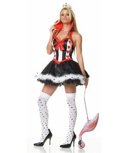 Enchanting Queen Of Hearts Costume