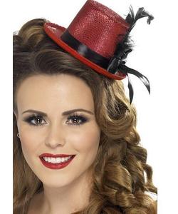 Red Mini Top Hat