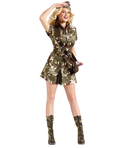 Major Lee Tanked Ladies Army Costume
