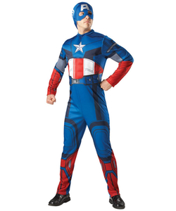 Captain America Fancy Dress Men's