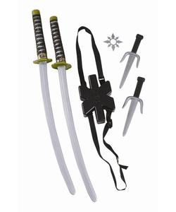 Ninja Double Sword Set