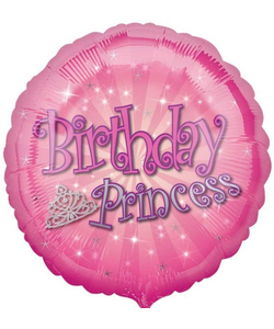 Birthday Princess Balloon 18""