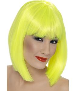 Glam Wig - Neon Yellow