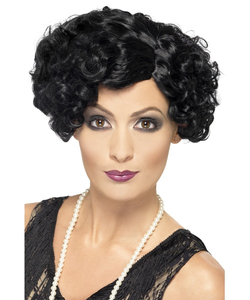20'S Flirty Flapper Wig - Black