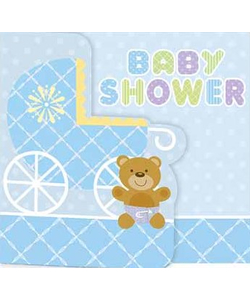 Baby Shower Invitations - 8 Pack