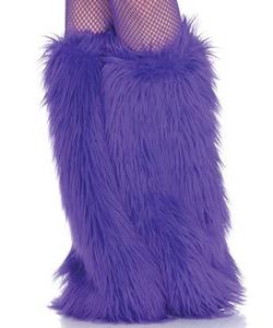 Purple Leg Warmers