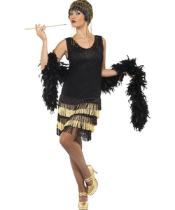 Fringed flapper Costume