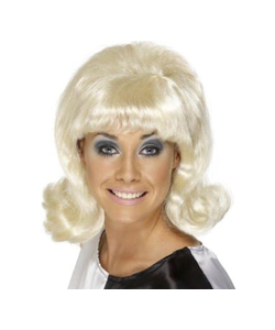 Sixties Ladies Wig - Blonde