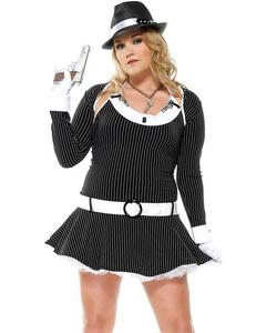 Bombshell Bugsy Plus Size Costume