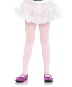 Girls Opaque Tights - PINK