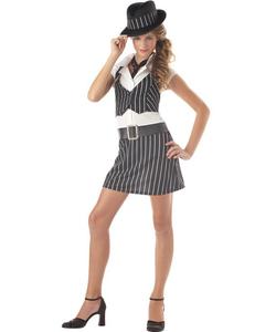 Kids Mobsta Girl Costume