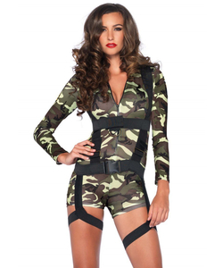 Ladies Going Commando Costume