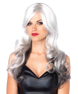 Allure Multi Color Wig - Grey and Black