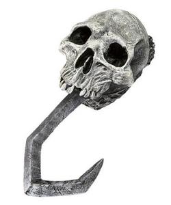 skull pirate hook hand