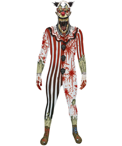 Jaw Dropper Clown Zombie Morphsuit
