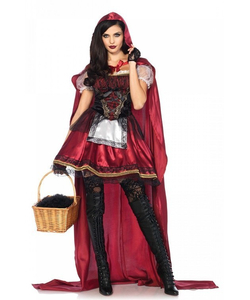 captivating miss red costume