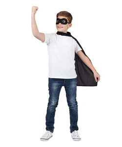 superhero cape & mask