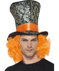 top hat with wig