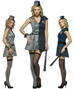 Prisoner/Cop Costume