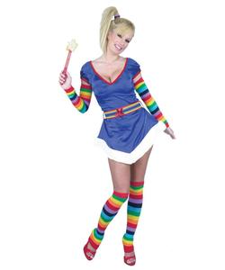 rainbow bride costume