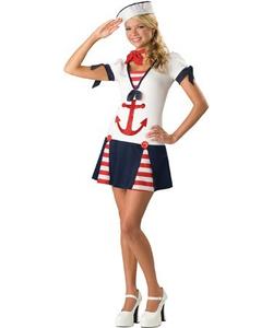 Teen Sassy Sailor Costume